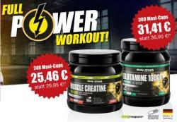 Glutamin 10000 und Muscle Creatin Maxi Caps!*