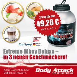 Extreme Whey Deluxe in 3 neuen Geschm�cker