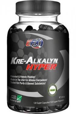 EFX Kre-Alkalyn Hyper - 120 Caps