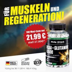 BCAA-Glutamin 10500 - AKTION!!