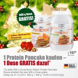 Protein Pancake Aktion im Dezember