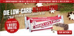 Adventsaktion: Carb Control Riegel 3plus1!