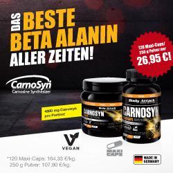 CARNOSYN - Das beste Beta Alanin aller Zeiten