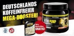 Nitro Pump - 400g plus gratis Muscle Whey 500g