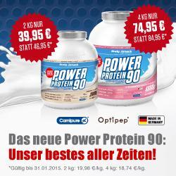 Nur dieses Wochenende: Power Protein 90...