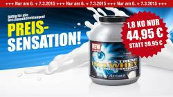 PREISKNALLER : 1,8 kg Extreme ISO Whey Professional f�r 44,95�!