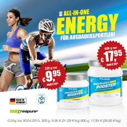 Body Attack - Endurance Booster - Reduziert