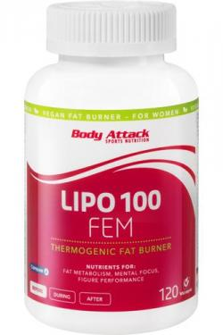 Jetzt NEU - der Fatburner speziell f�r Frauen. LIPO 100-FEM!