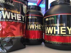Jetzt neu: Optimum Nutrition Gold 100% Whey