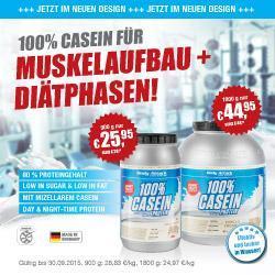 100% Casein Protein zum Sonderpreis
