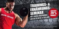 Trainingsseminar mit Mr. Olympia Amateur Europe!!