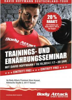 Trainings- und Ernährungsseminar mit dem Deutschen Meister