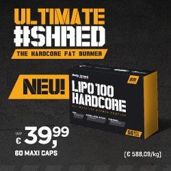 Ultimate #Shred - Der HARDCORE Fatburner f�r Profis