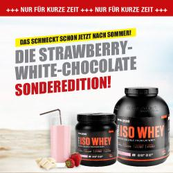 ISO Whey Strawberry White Chocolate - Special edition