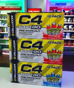 Neuer Booster: Cellucor C4 on The Go!