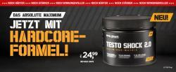 NEU: TESTO-SHOCK 2.0 - Das absolute Maximum mit Hardcore Formel