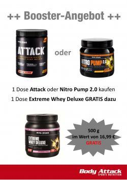 Body Attack - Booster Aktion !!!