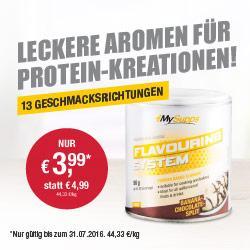 Leckere Aromen f�r Protein-Kreationen