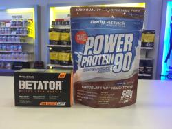BETATOR plus Gratis Power Protein 90 Aktion