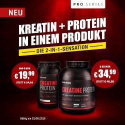 Creatine Protein! Das All-In-One-Produkt zum Muskelaufbau