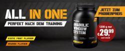 Body Attack Anabolic Window System 1200g JETZT zum Probierpreis