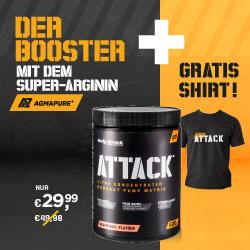 Trainingsbooster ATTACK unschlagbar günstig!