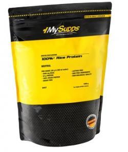 NEU im Sortiment   Reis Protein MySupps