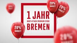 Einjähriges Jubiläum inkl. großer 20%-Aktion!