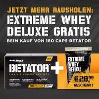 Betator plus Whey Deluxe 900g Gratis