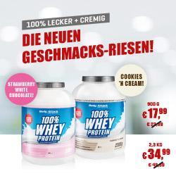 Body Attack - 100% Whey Protein - Angebot
