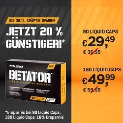 Angebot - BETATOR bis zu 20% günstiger!