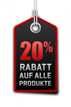 20% Rabatt Black Friday SALE