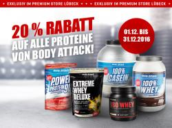 20% auf Protein im Dezember