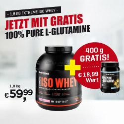 Body Attack - Iso Whey plus L-Glutamin Gratis
