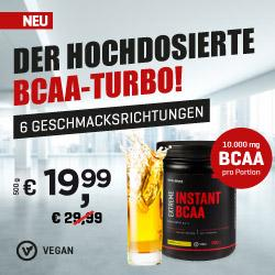 NEU: Extreme Instant BCAA 500g by Body Attack