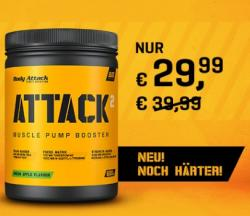 Noch Härter: ATTACK 2.0 - Pre-Workout Booster!