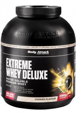Extreme Whey Deluxe 2,3 Kg  für unschlagbare  €39,99!