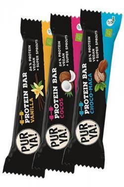 NEU im Shop :Der Bio Vegane Protein Riegel von PURYA!
