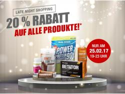 Late-Night-Shopping Samstag 25.2.17 Bis 23Uhr