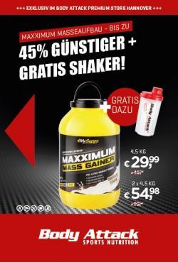 Maximale Masse - Maxximum Gainer