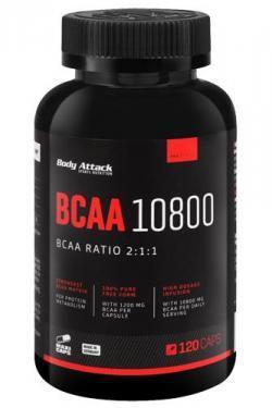 BCAA 10800 - Die hochdosierten BCAA Kapseln