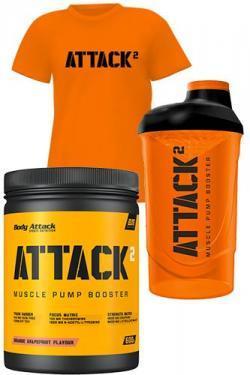 Attack Booster; Attack T-Shirt & Attack Shaker GRATIS!