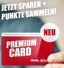 Jetzt sparen mit der kostenlosen Premium-Card!