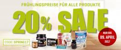 Frühlingspreise für alle Produkte
