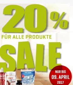Frühlings-Sale! 20% Rabatt auf alles!*