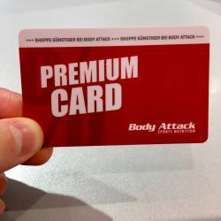 Die Premium Card ist da!