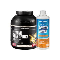 Extreme Whey Deluxe 2,3 Kg + GRATIS Mineral-Drink!