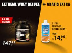 Extreme Whey Deluxe Sparpaket inkl. gratis Sports Drink