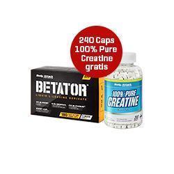 Betator kaufen + 100% Pure Creatin GRATIS dazu!!