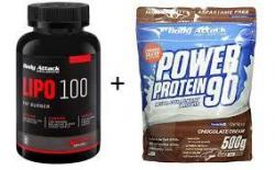 Lipo 100,  Gratis Power Protein 90 500g dazu